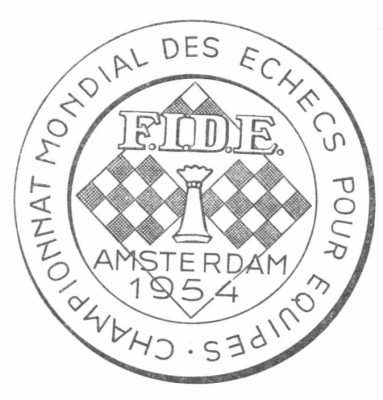 11th Olympiad 1954 Amsterdam, Netherlands