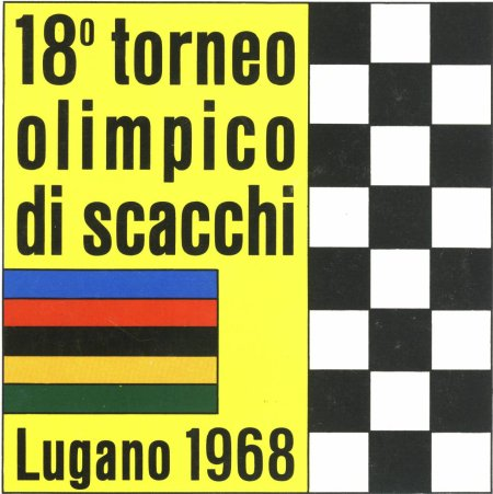 18th Olympiad 1968 Lugano, Switzerland
