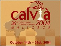 36th Olympiad 2004 Calvia, Spain
